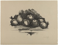 APPLES ON TABLE, 1923