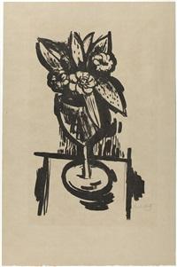 FLOWERS IN GOBLET #1, 1923