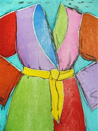 the yellow belt by jim dine