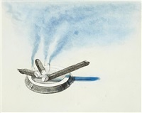 cigars (from recent etchings ii) by wayne thiebaud