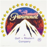 paramount (from the ads portfolio) by andy warhol