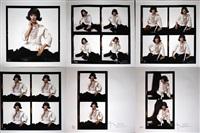 the lost sitting - (portfolio of 6) by bert stern