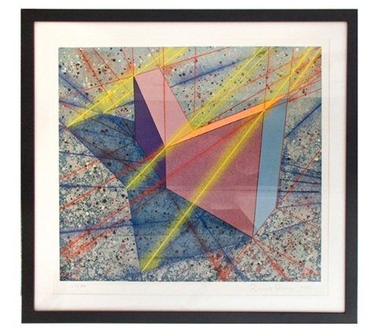 up right vee angle by ronald davis on artnet