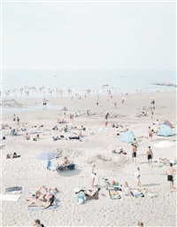 knokke beach by massimo vitali