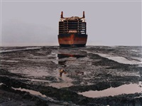 shipbreaking #28 by edward burtynsky