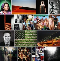 america now and here photography portfolio (13 works) by various artists