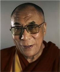 the dalai lama by chuck close