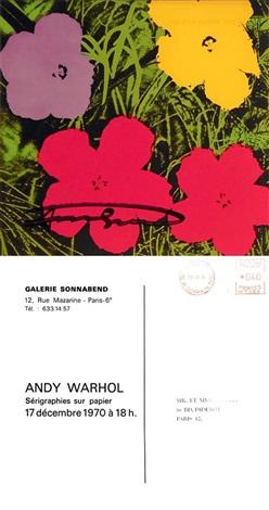 Invitation card gallery purplemoon flowers invitation card gallery sonnabendandy warhol on artnet invitation samples stopboris Gallery