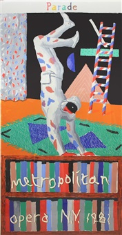 parade by david hockney