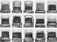 gasbehälter (gas tanks) by bernd and hilla becher