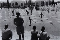parc andré citroën, paris by willy ronis