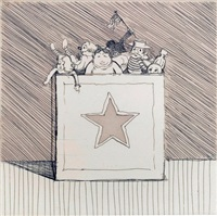 toy box by wayne thiebaud