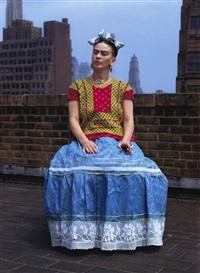 frida kahlo in new york by nickolas muray
