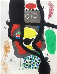 le caissier by joan miró