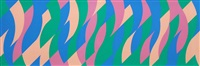 untitled (evoe) by bridget riley