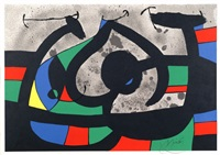 untitled, from le lézard aux plumes d'or by joan miró