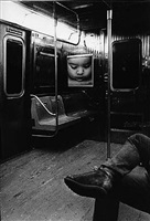 untitled, from the series 'transit' by daido moriyama