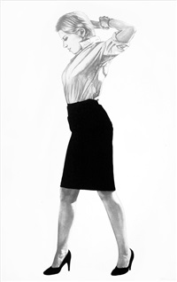 cindy (from men in the cities) by robert longo