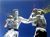 muhammed ali (life is wonderful) by mr. brainwash