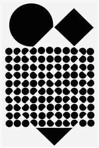 cassiopée by victor vasarely