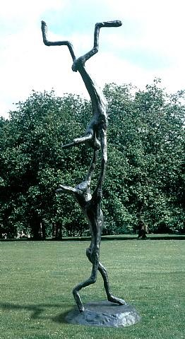 acrobats by barry flanagan
