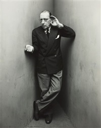igor stravinsky, new york by irving penn