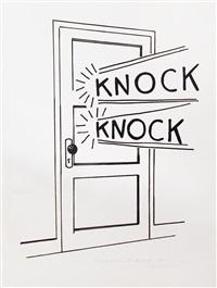 knock, knock by roy lichtenstein