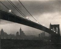 brooklyn bridge, nocturne by karl struss