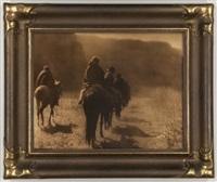 the vanishing race - navaho by edward sheriff curtis