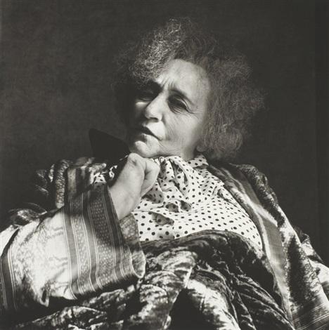 Colette by irving penn on artnet for Irving penn gallery