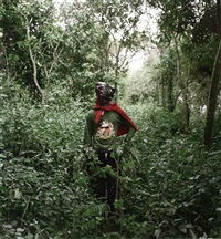 kwadwo konado, wild honey collector, techiman district, ghana by pieter hugo