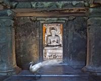 attaining moksha, ajanta cave, ajanta by karen knorr