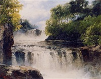 <i>the swallow falls, n. wales</i> by j. b. smith