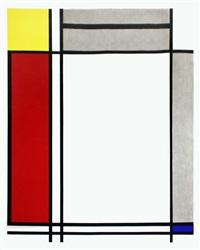 non-objective i by roy lichtenstein