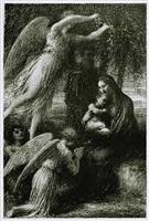 l'enfance du christ (le repos de la sainte famille) by henri fantin-latour
