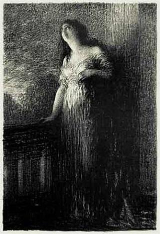 roméo et juliette (confidence à la nuit) by henri fantin-latour
