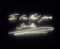 i can feel your smile by tracey emin
