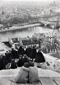 from the towers of notre dame by henri cartier-bresson