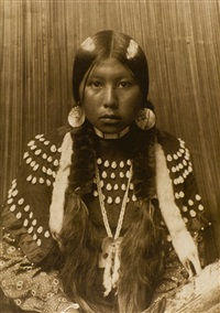 dusty dress - kalispel by edward sheriff curtis