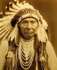 chief joseph - nez perce by edward sheriff curtis