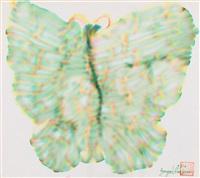 butterfly by yayoi kusama