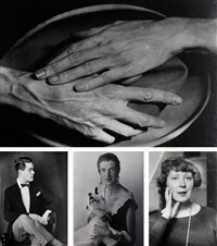 portraits (4 works) by berenice abbott