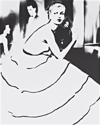 born to dance, margie cato, dress by emily wilkins, new york by lillian bassman