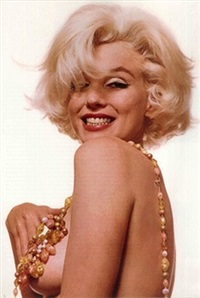 marilyn monroe that famous smile (from the last sitting) by bert stern