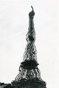 eiffel tower, paris, france by weegee