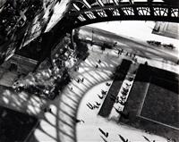 under the eiffel tower, paris by andré kertész