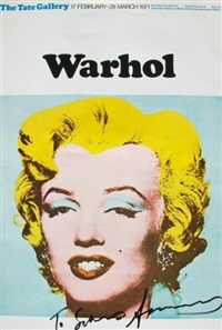 marilyn tate poster by andy warhol