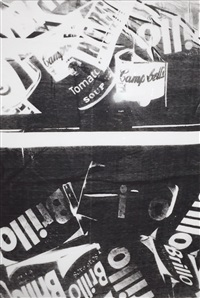 brillo, campbell's soup can (tomato), coca-cola, hershey's ca by andy warhol