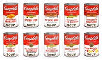 campbell's soup i (sunday b. morning portfolio of 10) by andy warhol