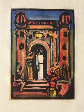 Passion suite christ aux portes de la ville frontispice for Aux portes dela deco